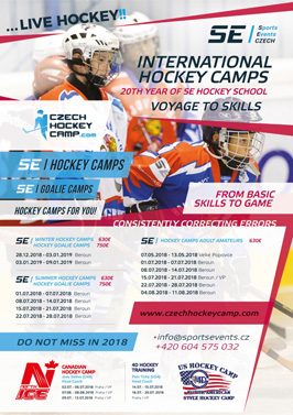 International Czech Hockey Camp